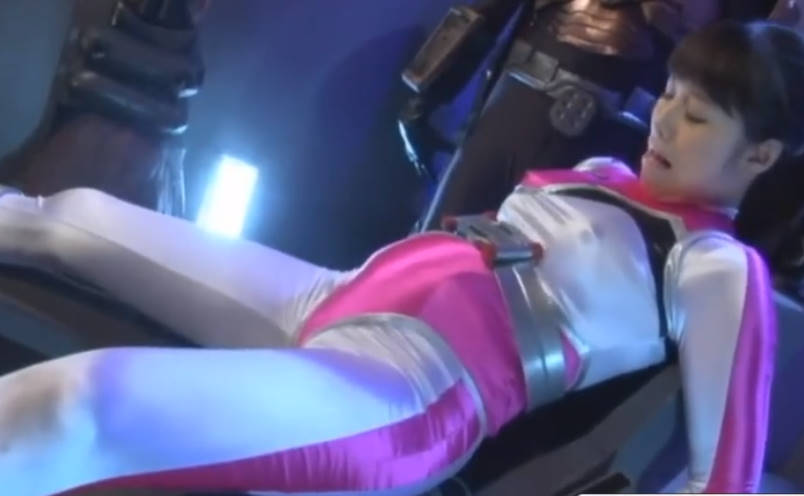 【春原未来】変身ヒロインである美少女が触手を持つ怪人に妊娠させられる!白目をむきながら感じまくってしまい、快楽堕ちでボテ腹状態のままとセックス!