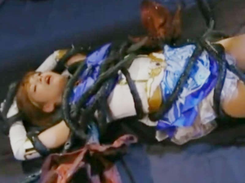 絶対絶命のピンチに陥る美少女変身ヒロイン☆敵のお珍宝をしゃぶらされる屈辱