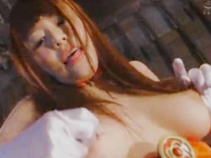 敵が見ているのに乳首オナニーや手マンであえぐ美少女ヒロイン☆捕らえられてバコバコガン突きされてしまう