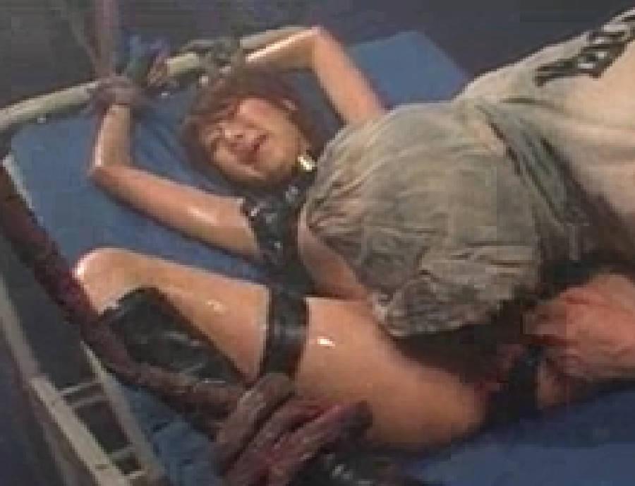 【夏川亜咲】秘密エージェントのミッションは簡単なはずが怪人にベロベロぬるぬるにされて犯される!